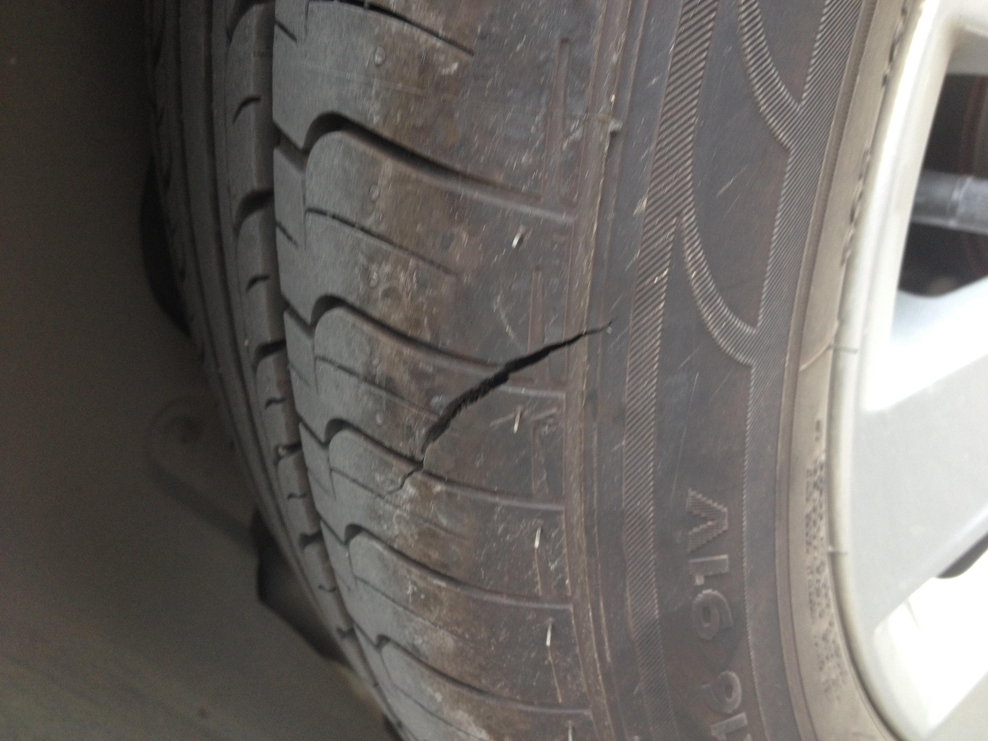 轮胎裂纹_搜狐汽车投诉