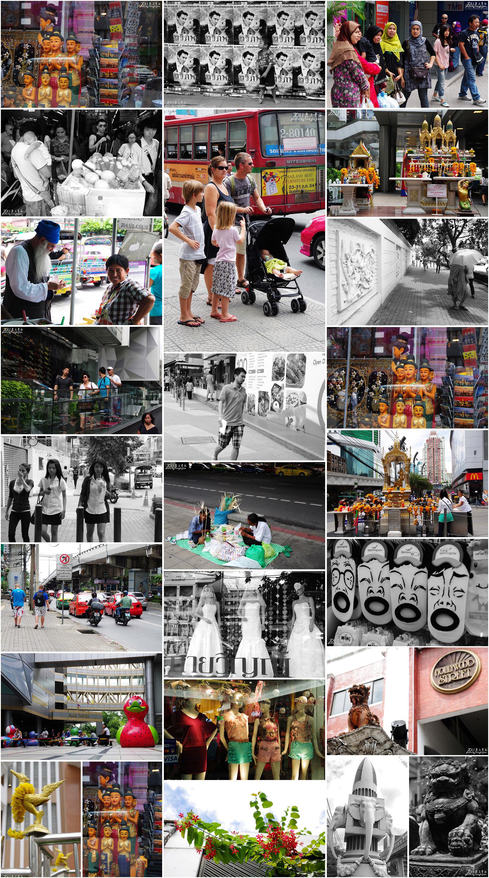 泰国·多姿多彩的曼谷热带惬意时光