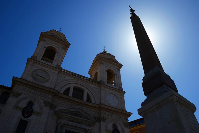 西班牙广场,罗马最著名的艳遇之地 - 风帆页页 - 风帆页页博客