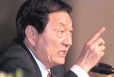 """【茶聊忆闻】朱镕基当年要和谁""""同归于尽""""? - 石簃 - 石簃草庐 2009"""
