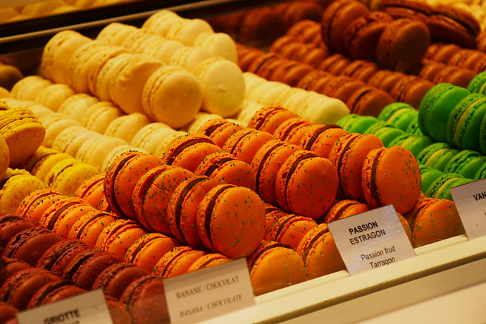 法国·马卡龙,彩虹般的美妙珍馐