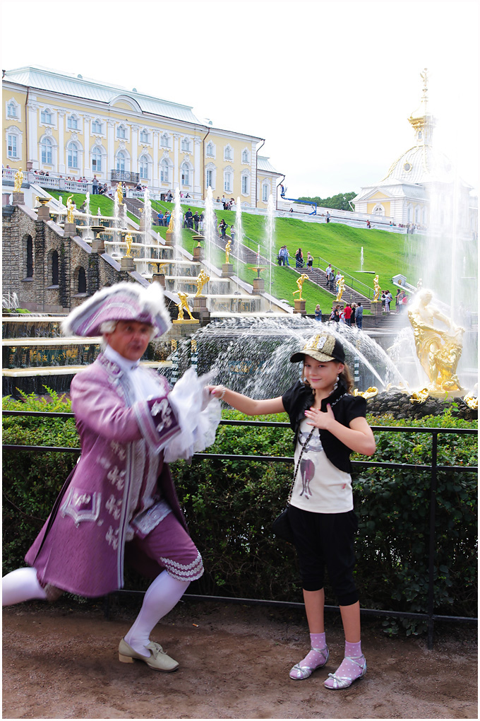 """俄罗斯·悠游""""最美""""的艺术殿堂--彼得夏宫"""
