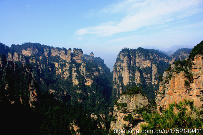 领略峰林之王天子山的雄姿 - H哥 - H哥的博客