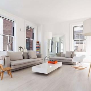 纽约市白色现代简约公寓