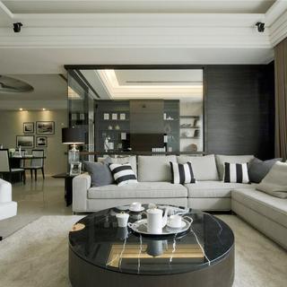 宽适雅致的165平米现代风格大宅居所