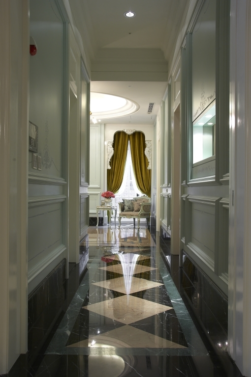 凡尔赛般大套房 法式新古典风三居室装修效果图