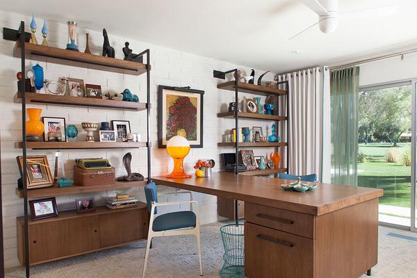 缤纷现代混搭风住宅装修效果图 一个房间一种风格