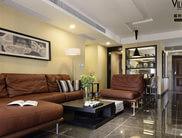 现代简约140平公寓时尚《咖生活》