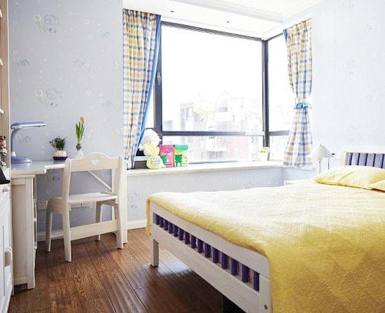 87平米美式自然舒适两居室装修效果图