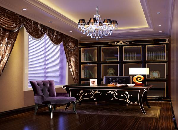 148平清新典雅的古典欧式家装修效果图