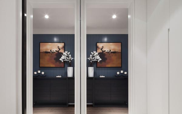 清新舒适现代时尚三居装修效果图