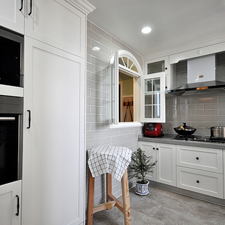 80-100平米三居风格厨房装修效果图大全2015图片-搜狐