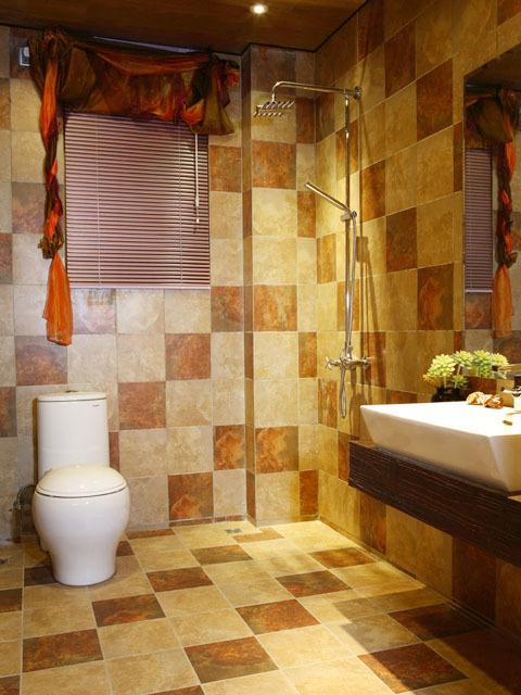 豪华热烈东南亚风格三居室装修效果图