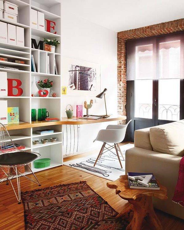 马德里混搭风格一居室装修效果图