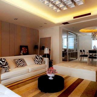现代简约160平城南公馆三口之家,环保时尚个性十足