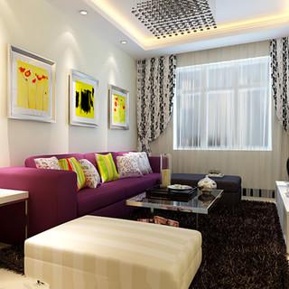 8.97万打造一居室现代简约风格装修