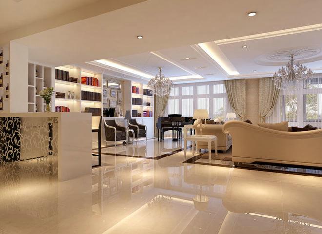 项目名称:崴廉公馆 工程面积:194平米 房屋户型:五室两厅一厨三卫 业主背景和需求:业主是大学教授有一定的文化品位,要自然舒适有品位 装修风格:现代简约 装修模式:全包 合同总造价:254363元 设计理念:以白色为主色系的简欧客厅,明亮的色彩纯洁而优雅,传达着一份安静的生活情调,精致的空间布局营造出温馨的生活画面让灵动的空间充满了自然气息。