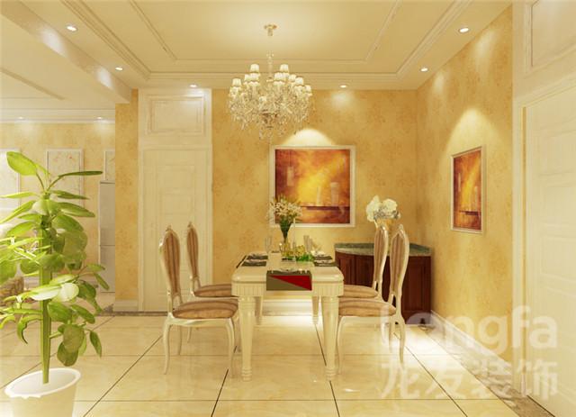 【上东城装修】上东城129平简单欧式风格装修设计效果