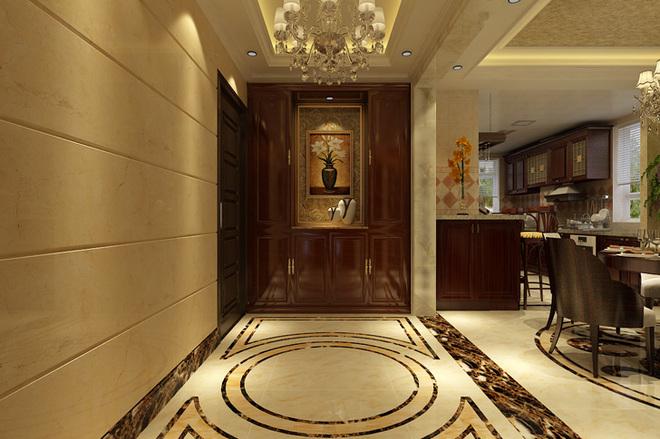 石家庄业之峰装饰-北城国际190平米欧式风格装修效图片