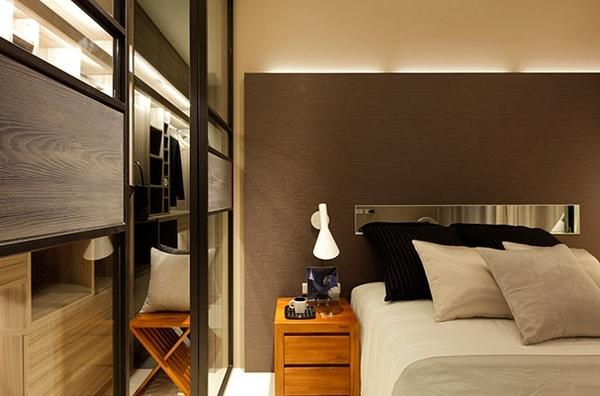 富有层次感的混搭风格 一居室小户型装修效果图