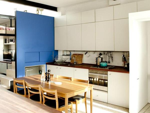 伦敦现代迷你跃层公寓装修效果图