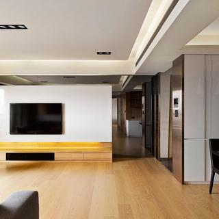 幸福悠然 细数生活点滴的165平三居室