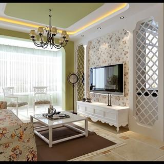 80-100平米风格客厅装修效果图大全2015图片-搜狐家居