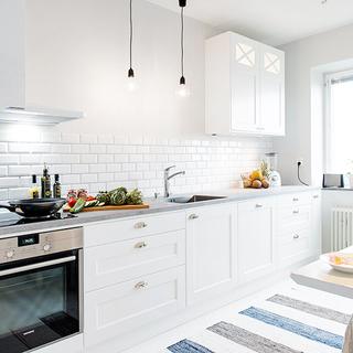 二居北欧风格厨房装修效果图大全2015图片-搜狐家居