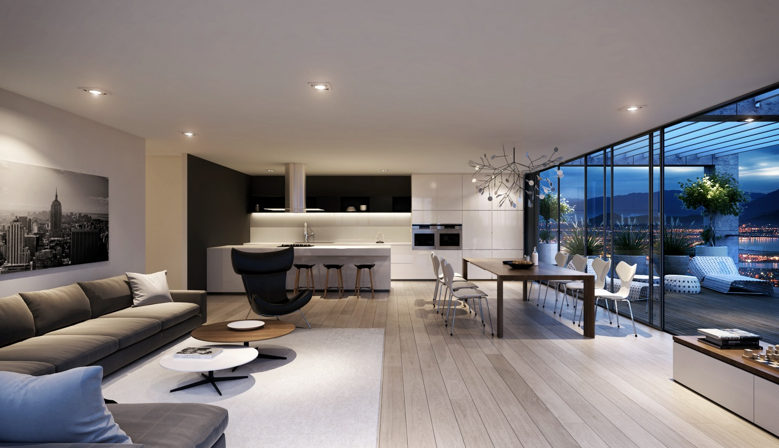 现代客厅家具设计哪家好