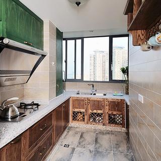 一居风格白色厨房门窗装修效果图大全2015图片-搜狐