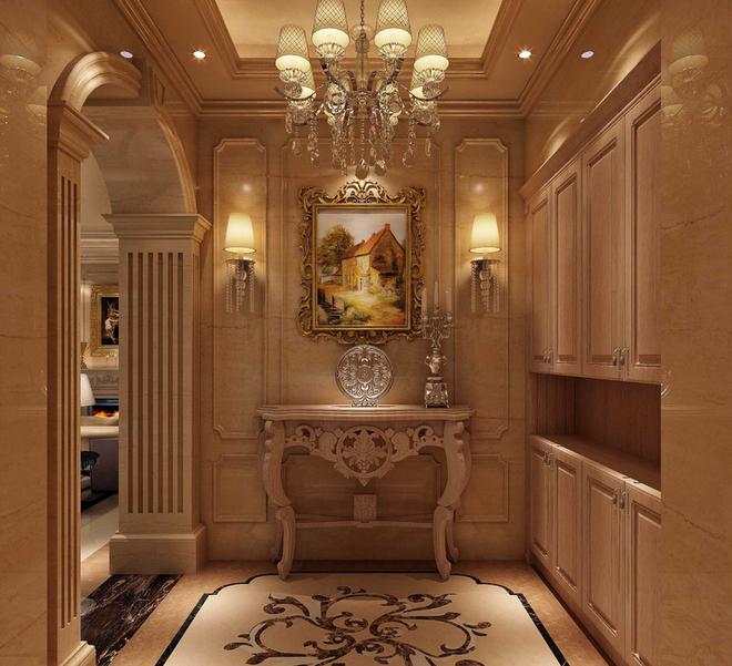 欧式奢华别墅  此风格继承了巴洛克风格中豪华