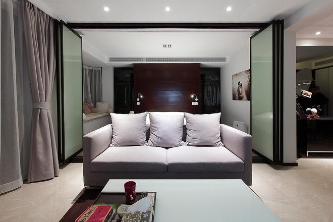 【实创装饰】普陀帅哥打造84平美式完美婚房