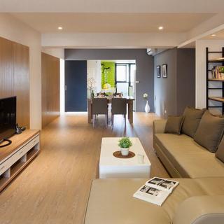 132平老房改造北欧简约空间