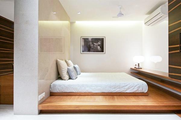 融合印度主题和形式的现代混搭精致阁楼装修效果图