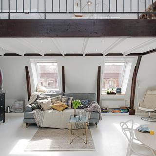 看一眼就爱上 36平米独一无二的阁楼公寓