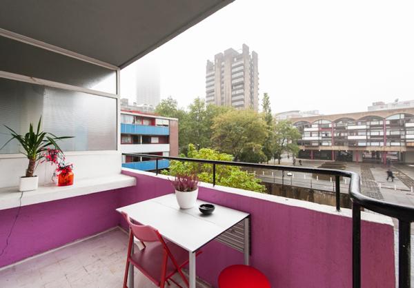42.9平米单身多彩混搭彩虹公寓装修效果图
