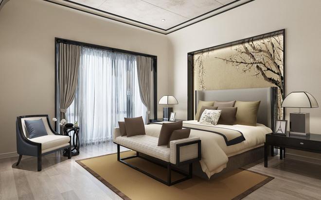 北京院子新中式風格別墅裝修設計展示