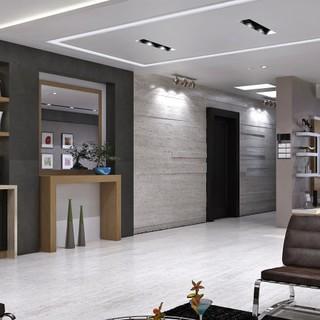 别墅现代风格木色玄关装修效果图大全2015图片-搜狐