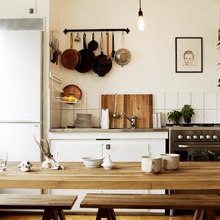33平米单身公寓 感受原木带来的居家温度