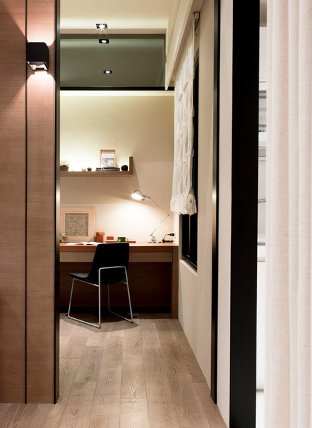 台湾日式风格一居室装修效果图