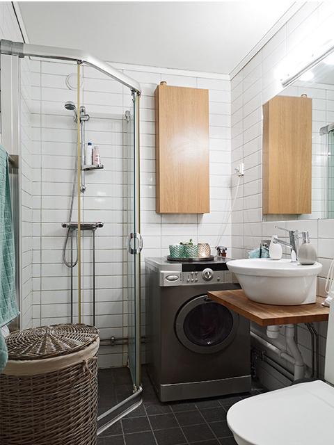 简约美式风格一居室装修效果图