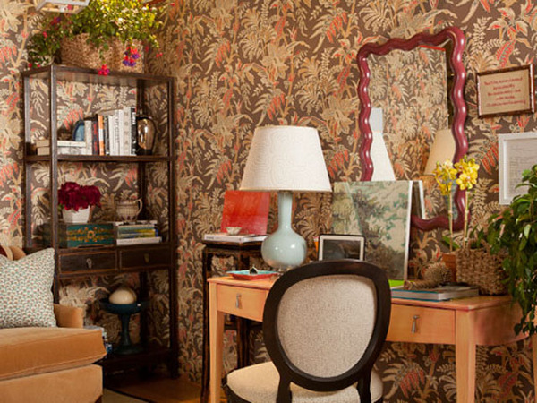 花朵开满家的超复古混搭美居装修效果图
