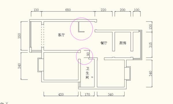 工薪族打造美式简约两居婚房装修效果图