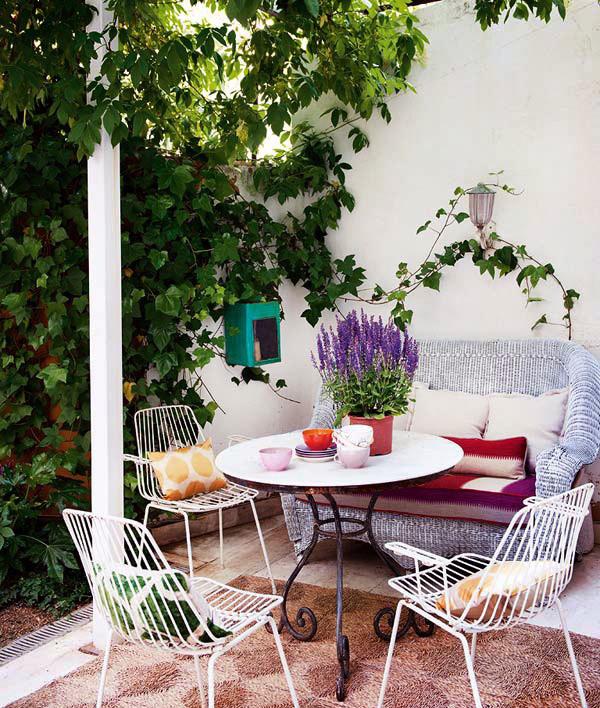浓郁彩色异域风情混搭三居室装修效果图