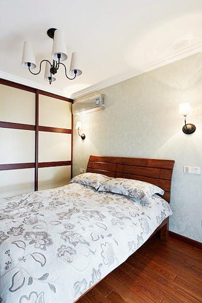 刚柔并济实用美式三居室装修效果图