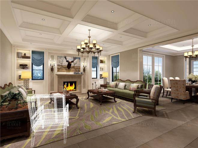 客厅—迪梵宜设计www.ukdfe.com