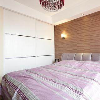 104平简欧清新时尚婚房 卫生间干湿创意隔断设计