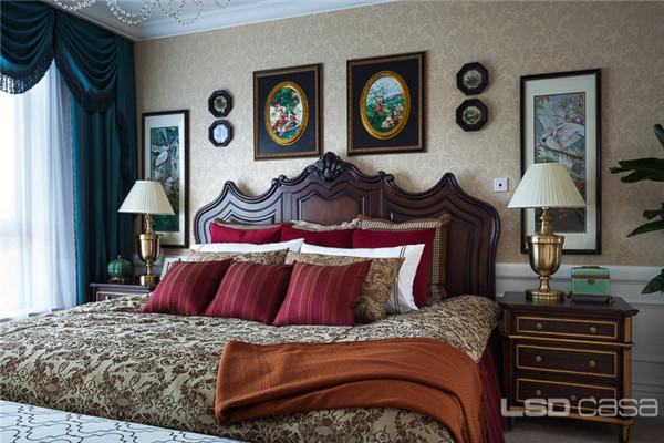 【lsdcasa作品】v7北湖壹号别墅c户型,华美优雅的法式新古典之作图片