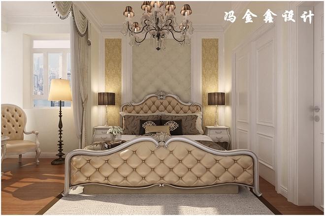 凯景广场138平简约欧式温馨白色风格