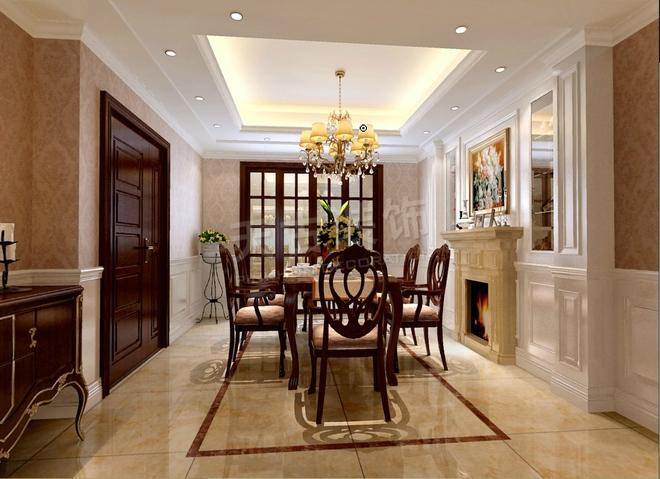 本案定位欧式新古典风格;在物业允许的范围内对厨房和生活阳台结构